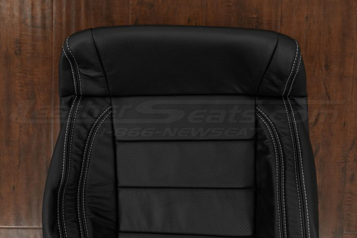 Upper section of front backrest