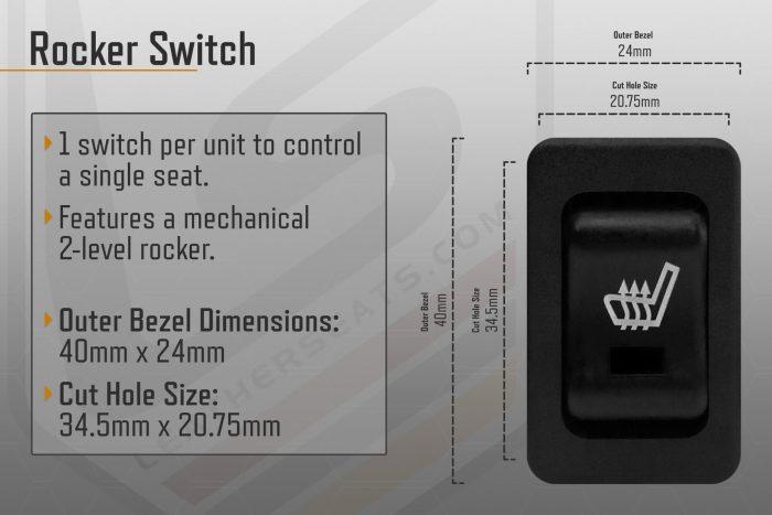 Rocker Switch Seat Heater General Information