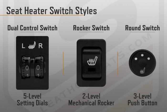 Seat Heater Switch Styles